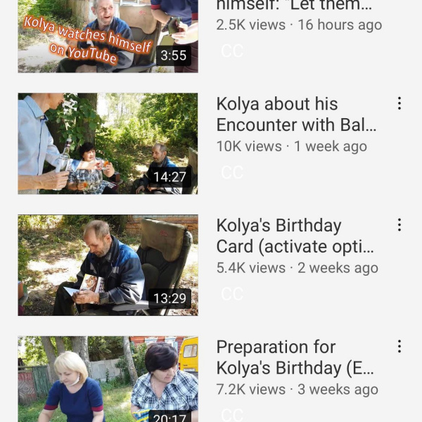 kolya has a youtube channel, let's get the man to 10k